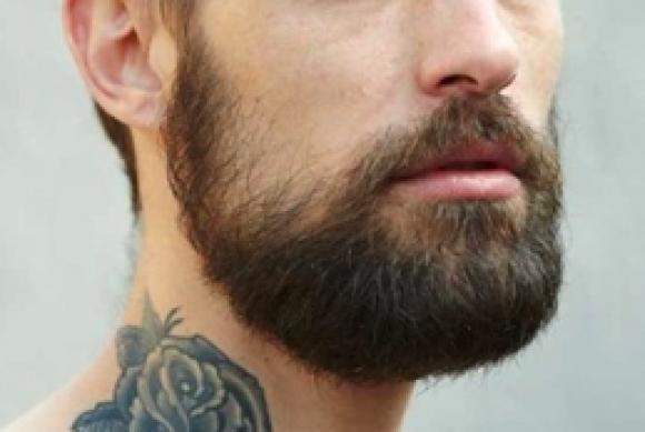 Pack barba y bigote (NEGRO)