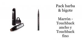 Pack barba y bigote (CASTAÑO MEDIO)