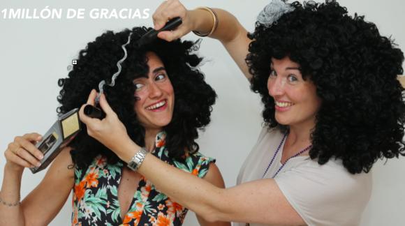 """""""PELOCHA"""" - nuestra peluca con canas"""